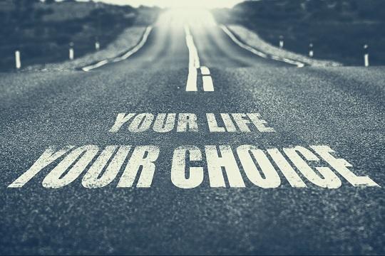 自分自身の人生のことは、自分で考えて行動していく必要があります