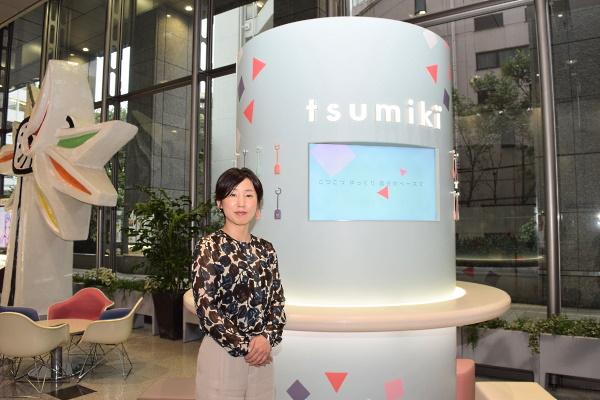 tsumiki証券ロビー