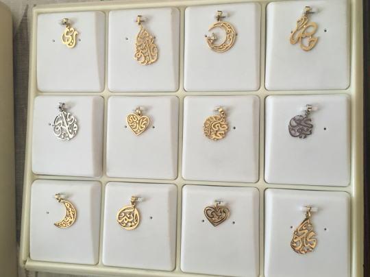 ドバイの金のネックレス