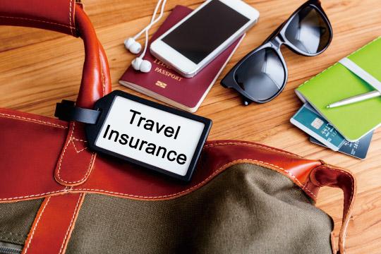 旅行保険のイメージ