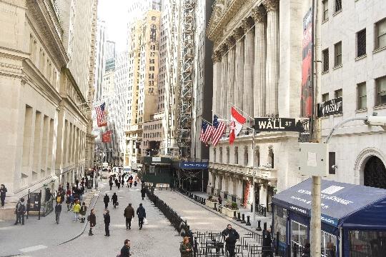 ウォール街のイメージ