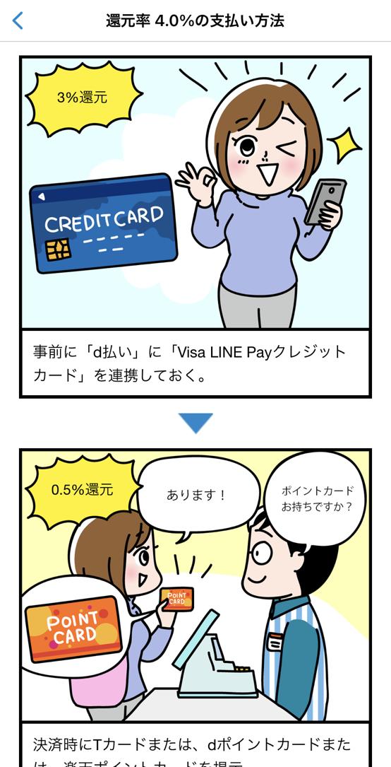 AI-Creditの決済方法詳細画面