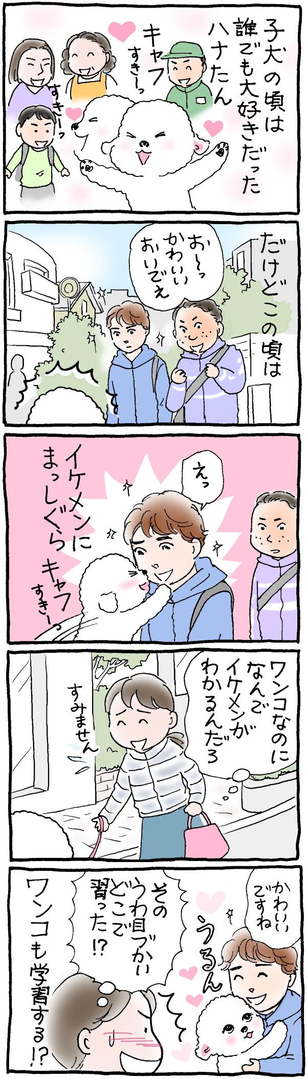 イケメン好きなハナちゃん
