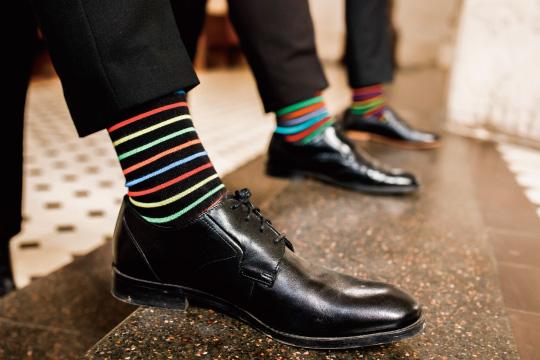 高級な靴下