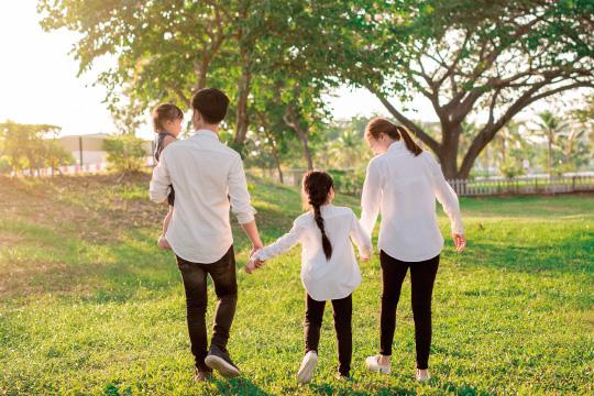 子どものいる家族のイメージ