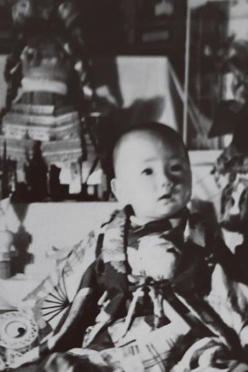花輪如一氏の幼少期の写真