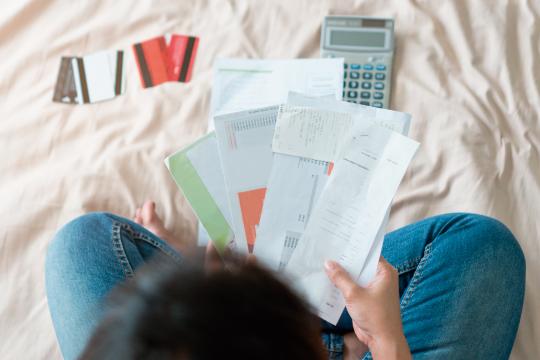 借金、クレジットカードのイメージ画像