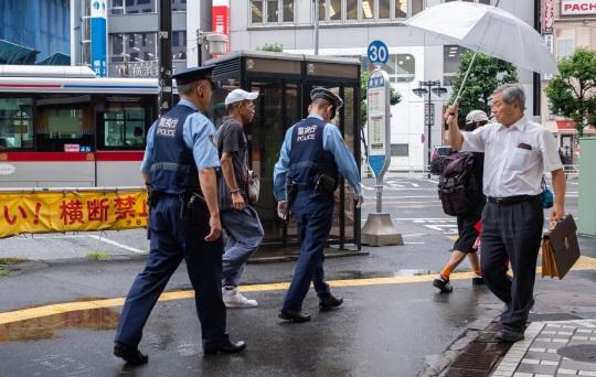 警察の職務質問