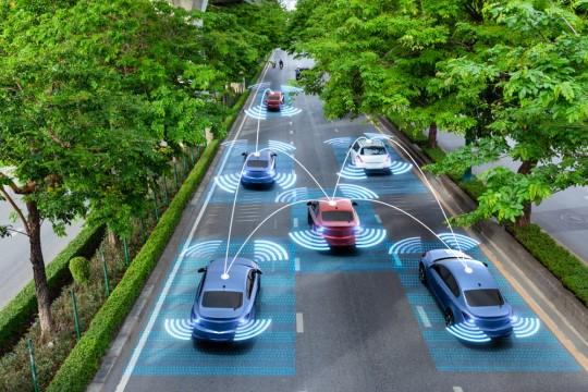 自動運転センサーイメージ