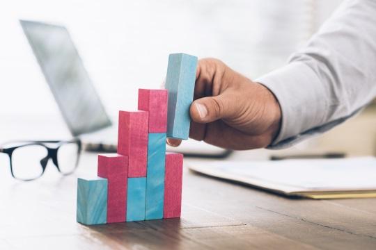 企業成長のイメージ